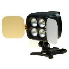 Iluminador-Sun-Gun-de-4-Super-Leds-de-2800Lm-para-Cameras-DLSR-e-Filmadoras