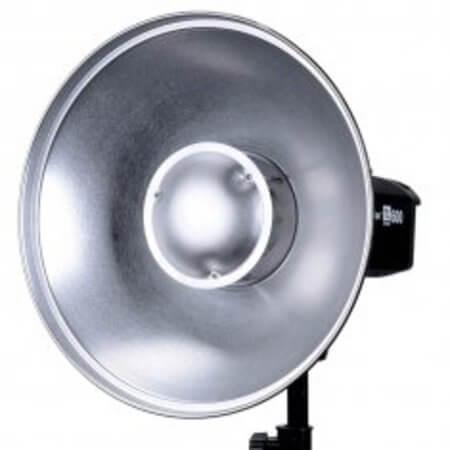Refletor-Beauty-Dish-Prata-Godox-550mm