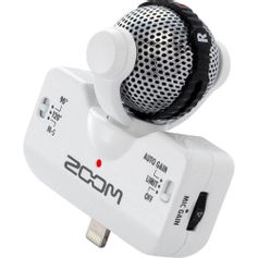 Microfone-Estereo-Zoom-iQ5-Profissional-para-iPhone-iPad-e-iPod-Touch---Branco