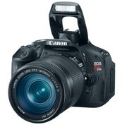 Câmera Digital Canon EOS Rebel T3i (600D), Lente EF-S 18-135mm f/3.5-5.6 IS