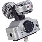 Microfone-Estereo-Zoom-iQ7-Profissional-para-iPhone-5-iPhone-6-e-iPads---Prata
