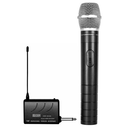 Microfone-de-Mao-sem-fio-VHF-CSR-2010-para-Filmadoras