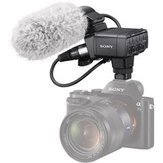 Kit-Microfone-Shotgun-Sony-XLR-K2M-com-Adaptador-XLR-Duplo