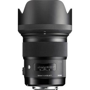 Lente Sigma Art 50mm f 1.4 para Canon   Em até 10X sem juros  - eMania Foto  e Vídeo dfdf03313f