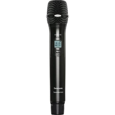 Microfone-de-Mao-Sem-Fio-UHF-Saramonic-UwMic10-HU10