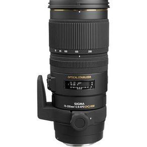Lente Sigma Sigma 70-200mm F2.8 APO EX DG OS HSM   Em até 10X sem juros  -  eMania Foto e Vídeo fa306ff9c7