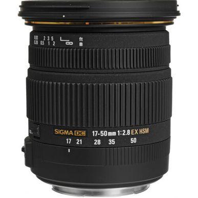 593b0365a Lente Sigma 17-50mm f/2.8 EX DC OS HSM Zoom para Canon APS-C ...