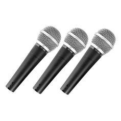 Kit-com-3-Microfones-de-Mao-Dinamico-CSR-HT-58A-3-com-Fio