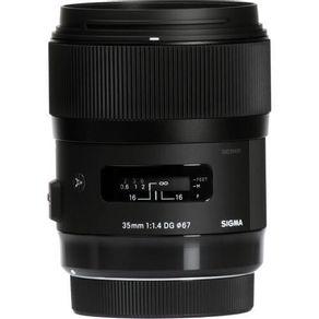 Lente Sigma 35mm f 1.4 DG HSM Art para Nikon   Em até 10X sem juros  -  eMania Foto e Vídeo 01641bf9fd