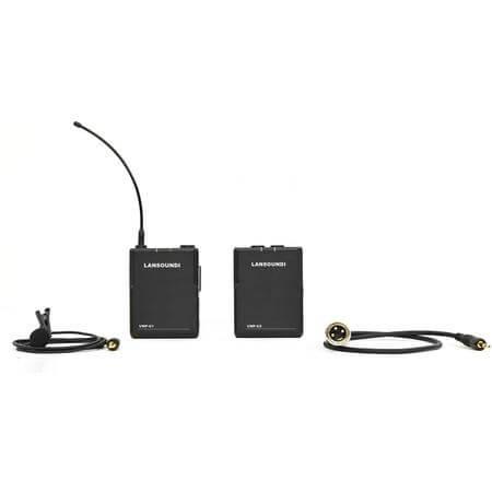 Microfone-Lapela-Sem-Fio-UHF-AK-512-para-Cameras-e-Filmadoras