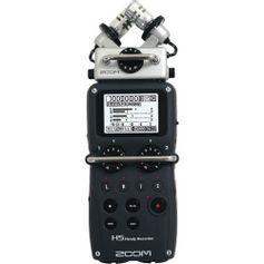 Gravador-Digital-Zoom-H5-Handy-Recorder-com-Sistema-de-Microfone-intercambiaveis