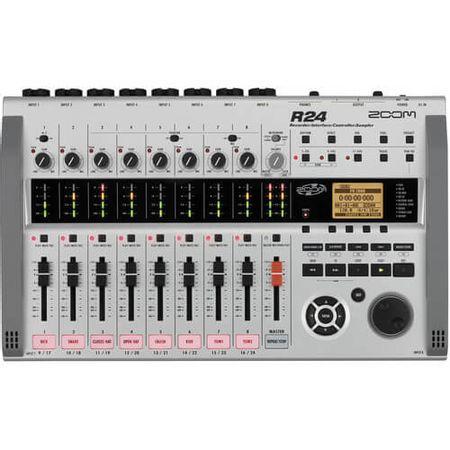 Gravador-Digital-Zoom-R24-Interface-Controlador-Multipista