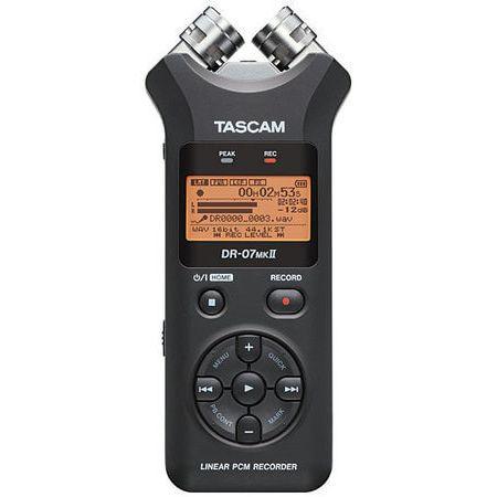 Gravador-Digital-Portatil-Tascam-DR-07mkII-com-Memoria-de-2-GB-Micro-SD-Incluido