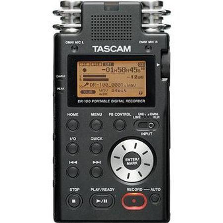 Gravador-Digital-Portatil-Tascam-DR-100-mkII-com-Memoria-de-2-GB-Micro-SD-Incluido