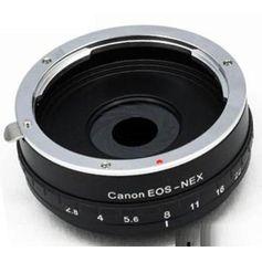 Adaptador-de-Lente-Canon-para-Cameras-e-Filmadoras-Sony-Nex