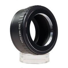 Adaptador de Lente M42 para Câmeras Sony Nex