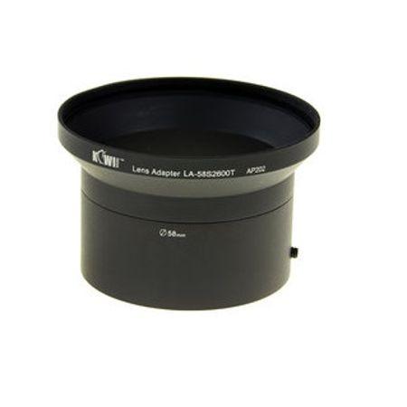 Adaptador-de-Lente-para-FujiFilm-FinePix---58mm-para-72mm