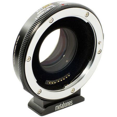 Adaptador-Metabone-de-Lente-Canon-EF-para-Cameras-Micro-4-3-T--T-Mount--Speed-Booster-Ultra-0.71x