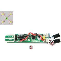 Placa-Controladora-de-velocidade-Para-Drone-Free-x-FX4-012-ESC2--Vermelha-e-Branca-