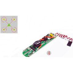 Placa-Controladora-de-velocidade-Para-Drone-Free-x-fx4-024-ESC4--Vermelha-e-branca-
