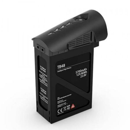 Bateria-TB48-para-Drone-Inspire-DJI---Preta