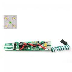 Placa-Controladora-de-velocidade-Para-Drone-Free-x-FX4-011-ESC1--Verde-e-Branco-