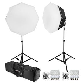 Kit-de-iluminacao-para-Estudio-Fotografico-com-2-Octabox-de-70cm-e-4-Lampadas-45w