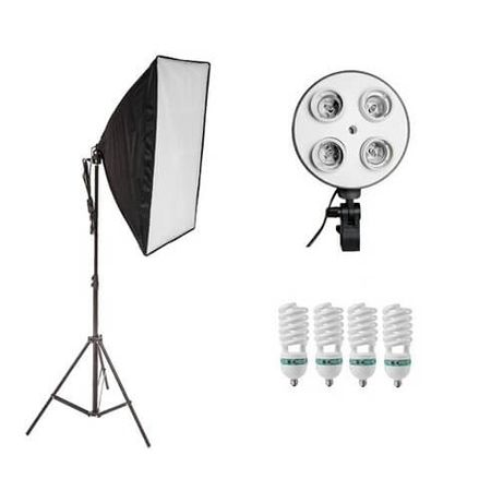 Kit-de-iluminacao-para-Estudio-Fotografico-com-Softbox-e-4-Lampadas