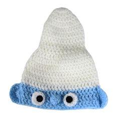 Gorro-Smurf-de-La-para-Fotografia-Newborn