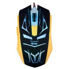 Mouse Gamer Neith com 3200 DPI com 7 Botões (Azul)
