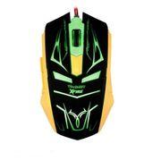 Mouse Gamer Neith de 3200 DPI com 7 Botões (Verde)