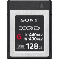 Cartão Sony XQD de 128GB 400mb/s Série G