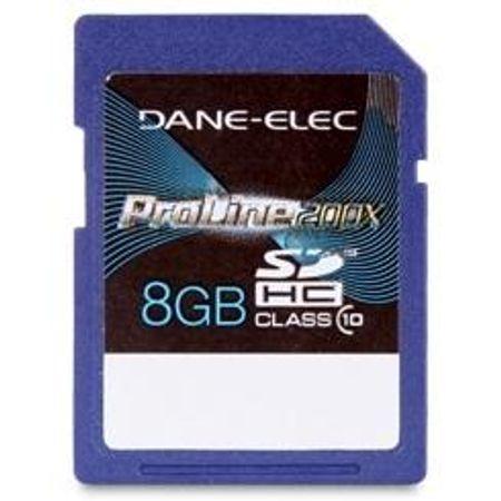 Cartão SD 8Gb Dane-Elec Proline 200x Classe 10