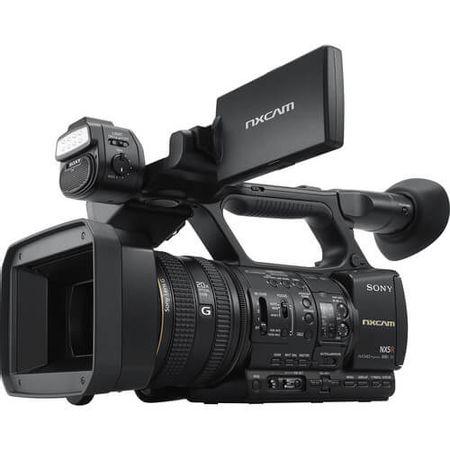 Filmadora-Sony-HXR-NX5R-NXCAM-com-LED-Light