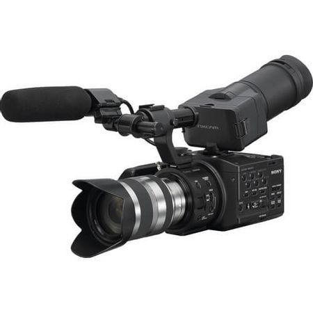 Filmadora-Sony-NEX-FS100UK-Super-35mm-com-Lente-18-200mm-Zoom