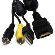 Cabo-USB--AV-Sony-para-Sony-CyberShot-S-series