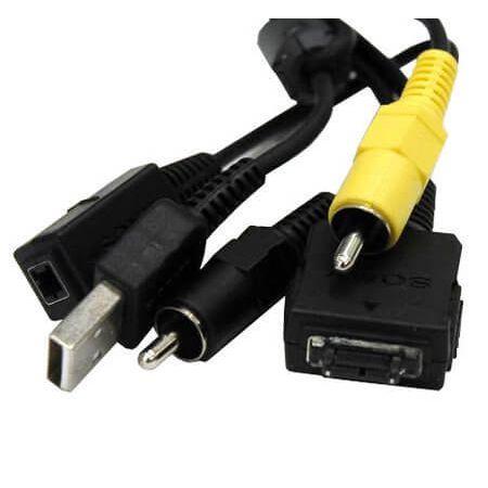 Cabo-USB--AV-Sony-para-Sony-CyberShot