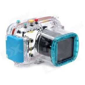 Caixa-Estanque-para-Camera-Nikon-1-V1-com-Lente-10-30mm