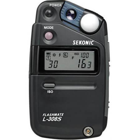 Fotometro-Sekonic-L-308S---Medidor-de-Luz