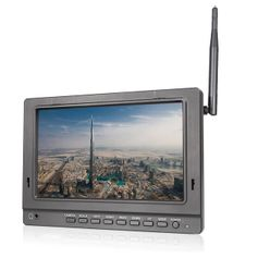 Monitor-FPV-7--Led-HD-com-Entrada-HDMI-AV-e-Receptor-Wireless