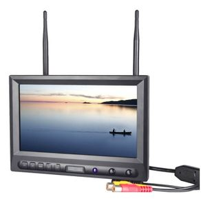 Monitor-FPV-8--com-Entrada-RCA-e-Receptor-Wireless-5.8GHz