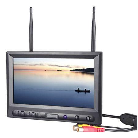 Monitor-FPV-8--com-Entrada-RCA-e-Receptor-Wireless-5.8GHz