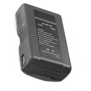 Bateria-Broadcast-V-Mount-BP130-para-Filmadoras-Profissionais