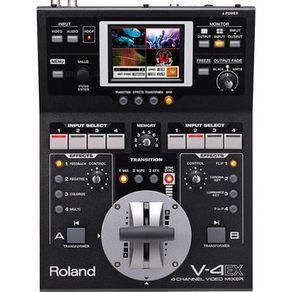 Video-Mixer-Roland-V-4EX-de-4-Canais-Digitais-com-Efeitos