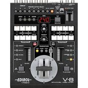 Video-Mixer-Roland-V-8-de-8-Canais-Live-Video-Efeitos-Switcher