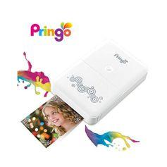 Impressora-Fotografica-Portatil-Hiti-Pringo-P231-para-Fotos-Instantaneas---Branca--