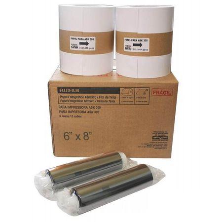 Kit-2-Papeis-e-2-Ribbon-FujiFilm-ASK-300-10x15----800-Fotos