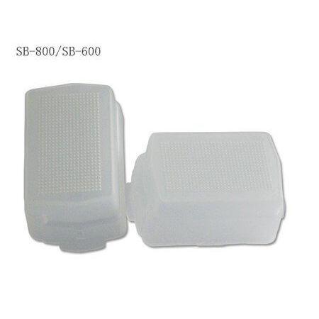 Difusor-para-Flash-Nikon-SB-600-e-SB-800