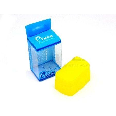Difusor-para-Flash-Nikon-SB600---Amarelo