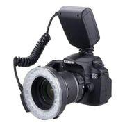 Iluminador-Circular-de-48-Leds-para-Cameras-Canon-Nikon-Panasonic-e-Olympus